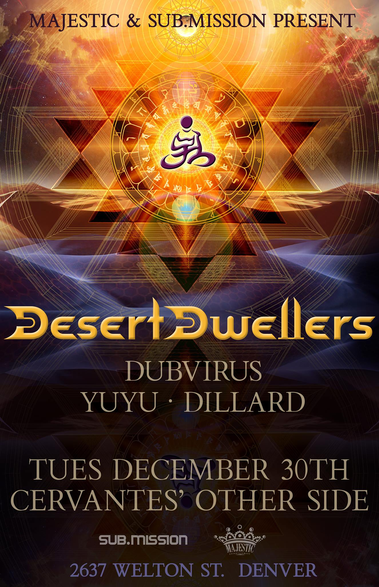 YUYU And Dillard With Desert Dwellers And Dubvirus! Electronic Tuesday