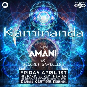 Amani & Adem Joel w/ Kaminanda (Albuquerque, The El Rey April 1st)