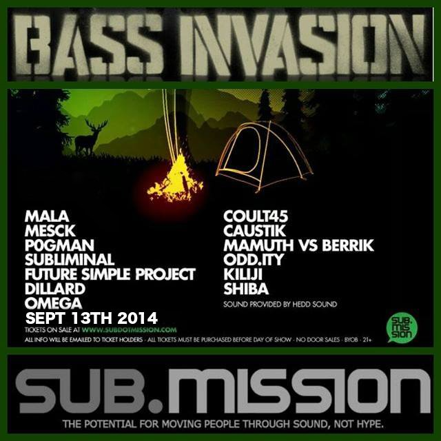 Family Moons Artist At BASS INVASION Hosted By Sub.Mission