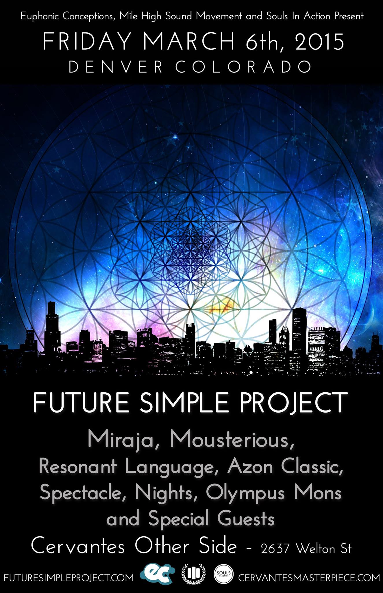 Future Simple Project @ Cervantes Otherside (Denver)