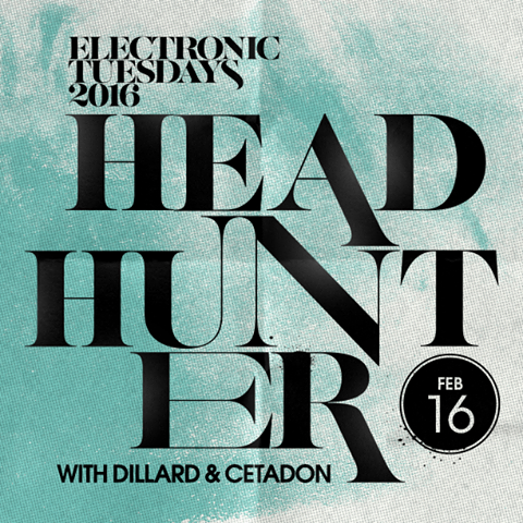 Dillard To Support Headhunter At Electronic Tuesday Feb 16th Hosted By Sub.mission