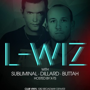 Dillard supporting L-WIZ at Club Vinyl hosted by Sub.Mission January 23rd