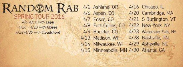 random-rab-spring-2016-tour