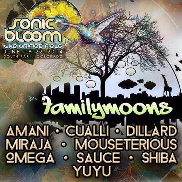 Family Moons Artist At Sonic Bloom 2014