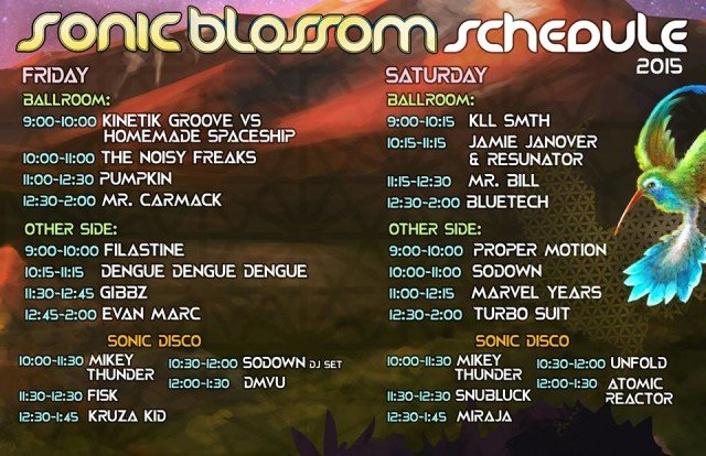 sonicblossom-schedule