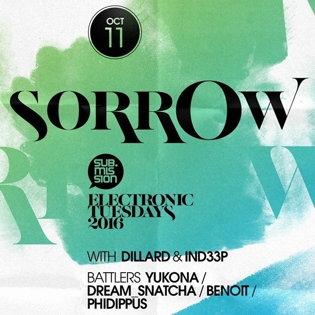 Dillard And Yukona W/ Sorrow @ Cervantes Otherside (Denver) 10-11-16