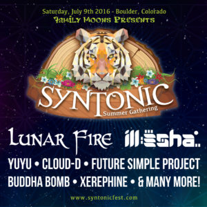 Syntonic Summer Gathering Boulder CO Saturday, July 9th