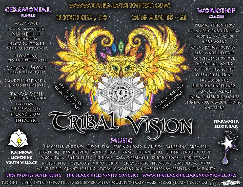 Adem Joel & Buddha Bomb @ Tribal Vision (Hotchkiss, CO) Aug 18 – 21