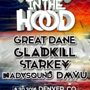 DMVU w/ Starkey, Great Dane, Gladkill @ Cervantes (Denver) Aug. 20th