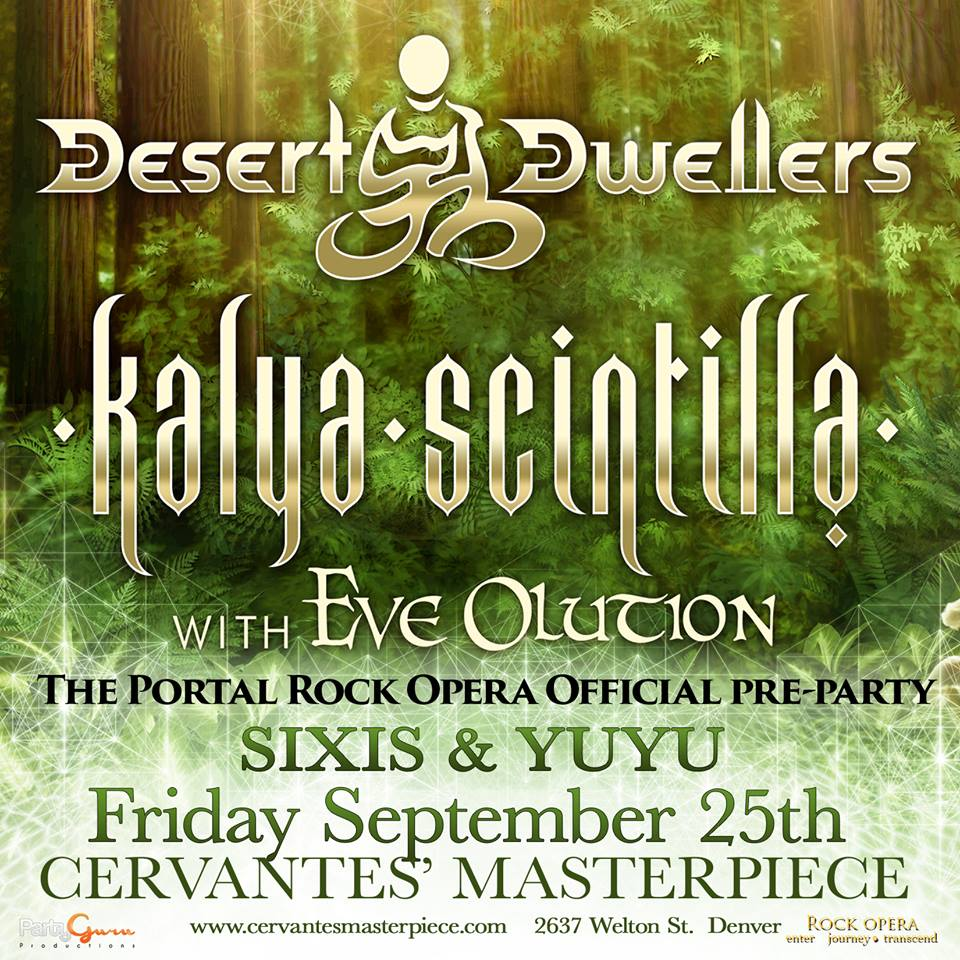YUYU With Desert Dwellers And Kalya Scintella Friday Sept 25th Denver